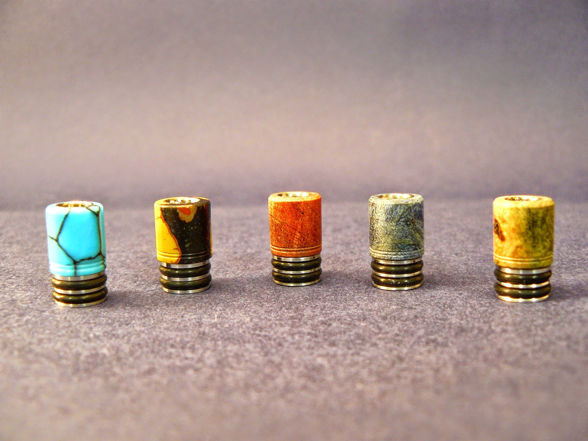 "drip-tips shortys, version ""Luxe"""