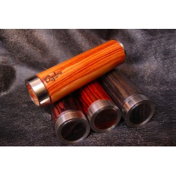 Phileas 18650 mod Natural Wood 24mm